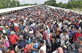 ABD'nin Meksika sınırına 800 asker konuşlandıracağı...