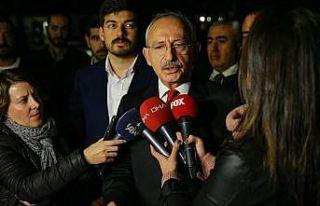 CHP Genel Başkaı Kılıçdaroğlu: Cinayet işleyen...