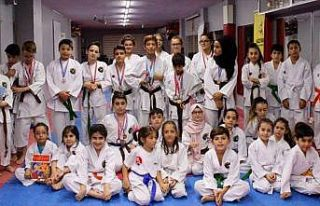 Genç karateciler 3 ayda 603 kitap okudu