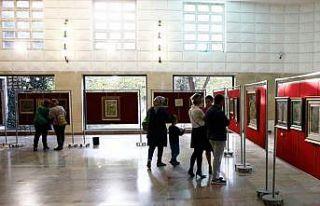 'Gölgede Kalanlar' minyatür sergisi DTCF'de açıldı