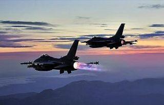 Irak'ın kuzeyine hava harekatı: 6 terörist etkisiz...