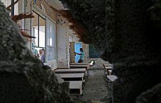 İsrail'den Filistin okuluna 'gazlı' saldırı