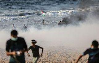 İsrail'den Gazze ablukasını kırmak isteyen Filistinlilere...
