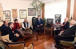 Kılıçdaroğlu'ndan Ara Güler'in ailesine taziye...