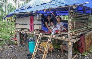 Limpoa'daki afetzedelere ilk insani yardım TDV'den