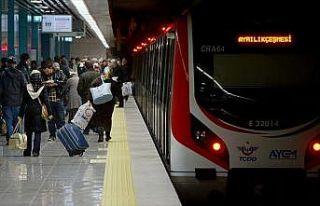 Marmaray ile taşınan yolcu sayısı 295 milyonu...