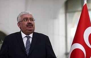 MHP Genel Başkan Yardımcısı Yalçın: Yetkilileri...