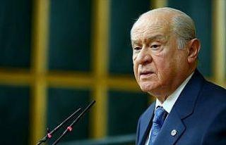 MHP Genel Başkanı Bahçeli: Kanun teklifi Meclis'e...