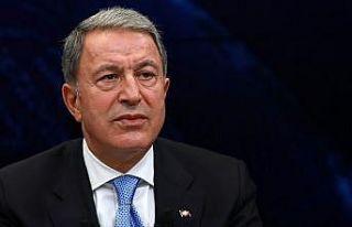 Milli Savunma Bakanı Akar: Terörle mücadelede her...