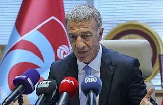 Trabzonspor Kulübü Başkanı Ağaoğlu: Zirve yarışı...