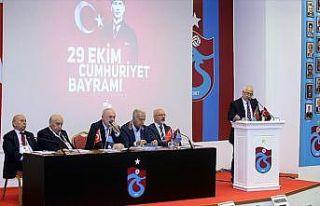 'Trabzonspor'un net borcu 1 milyar 76 milyon 205 bin...