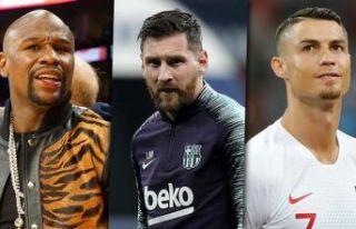 2018'de en çok kazanan sporcular