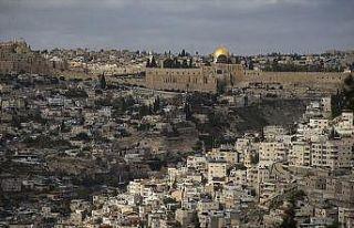 2018'de Kudüs ABD'nin siyasi himayesinde acı çekmeye...