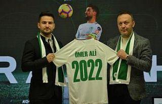 Atiker Konyaspor, Ömer Ali Şahiner ile sözleşme...