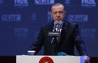 Cumhurbaşkanı Erdoğan: Necip Fazıl Ödülleri...