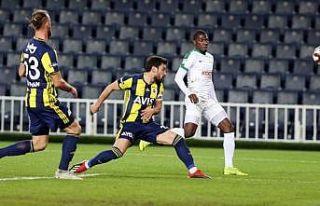 Fenerbahçe Giresunspor'u tek golle geçti