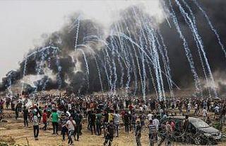 Filistinli aktivist İbrahim: İsrail Gazze sınırında...