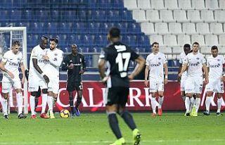 Kasımpaşa, Beşiktaş'ı farklı geçti