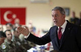 Milli Savunma Bakanı Akar: Provokasyonların bedeli...