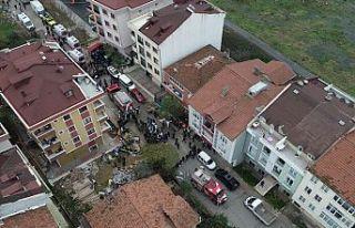 Sancaktepe'de düşen helikopterde yaralanan...