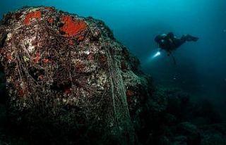 Su altında 'plastikten vazgeç' çağrısı