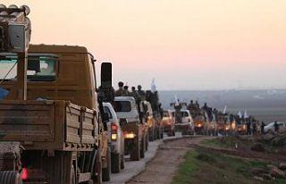 Suriyeli muhalifler Münbiç'teki cephe hatlarına...