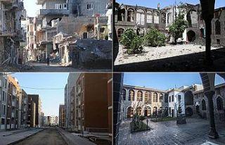 Terör örgütü PKK'nın yıktığını devlet...
