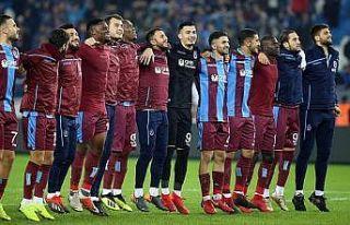 Trabzonspor sezonun ilk yarısını iyi bitirdi