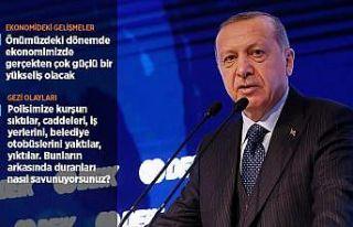 'Türkiye'nin şahlanışını durduracak hiçbir...
