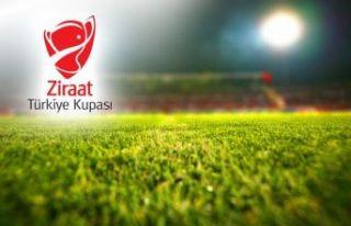 Ziraat Türkiye Kupası son 16 turu eşleşmeleri...