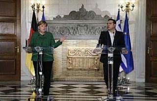 Almanya Başbakanı Merkel: AB-Türkiye göçmen mutabakatı...