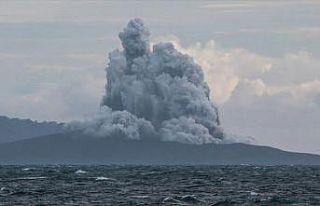 AnakKrakatauYanardağı'ndabir günde 37 patlama...