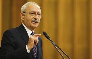 CHP Genel Başkan Kılıçdaroğlu: Adaleti gerçekleştirmek...