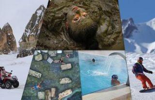 Türkiye'nin gözde kış turizm merkezleri konuklarını...