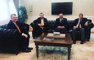 İNCE MEDYA'dan Halil Eldemir'e ziyaret