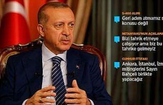 Cumhurbaşkanı Erdoğan: Bu milletin kırmızı çizgisi...