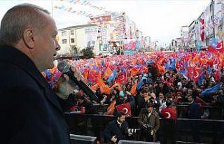 Erdoğan: Ayasofya'yı tekrar müzeden isim olarak...