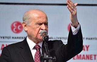MHP Genel Başkanı Bahçeli: Kılıçdaroğlu tank-palet...