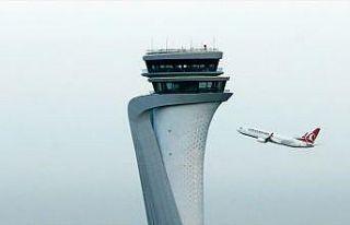 THY İstanbul Havalimanı'nda 405 bin yolcuya hizmet...