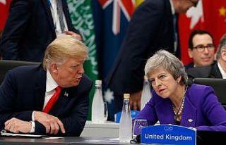 Trump'tan May'e 'tavsiyemi dinlemedi' göndermesi