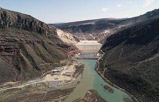 Türkiye'nin ikinci büyük sulama barajı hızla...