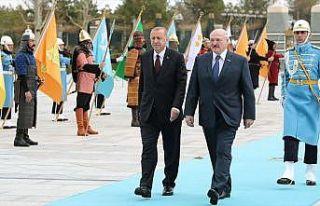 Belarus Cumhurbaşkanı Lukaşenko Ankara'da