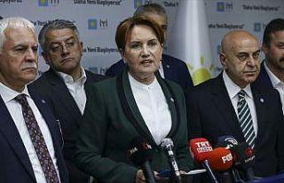 İYİ Parti Genel Başkanı Akşener: Bu seçimin...