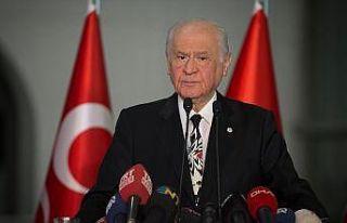 MHP Genel Başkanı Bahçeli: Türkiye üzerinde karanlık...