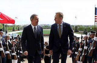 Milli Savunma Bakanı Akar, ABD Savunma Bakan Vekili...