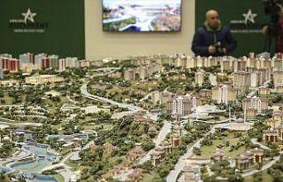 Ankara'da 50 bin sosyal konut projesi kapsamında...