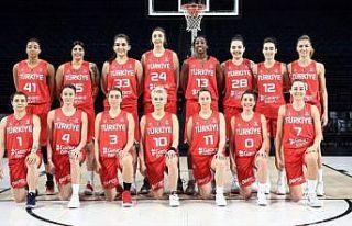 A Milli Kadın Basketbol Takımı'nın nihai kadrosu...