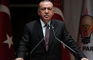 Cumhurbaşkanı Erdoğan: Türkiye S-400'ü almıştır,...