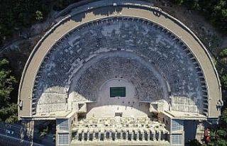 Turkish Airlines Antalya Open'da ilk atış Aspendos'ta...