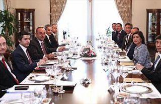 Bakan Çavuşoğlu ASEAN ülkelerinin büyükelçileriyle...